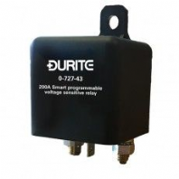 DURITE <br>12V  Smart Programmable Voltage Sensitive Relay 200A <BR>ALT/0-727-43